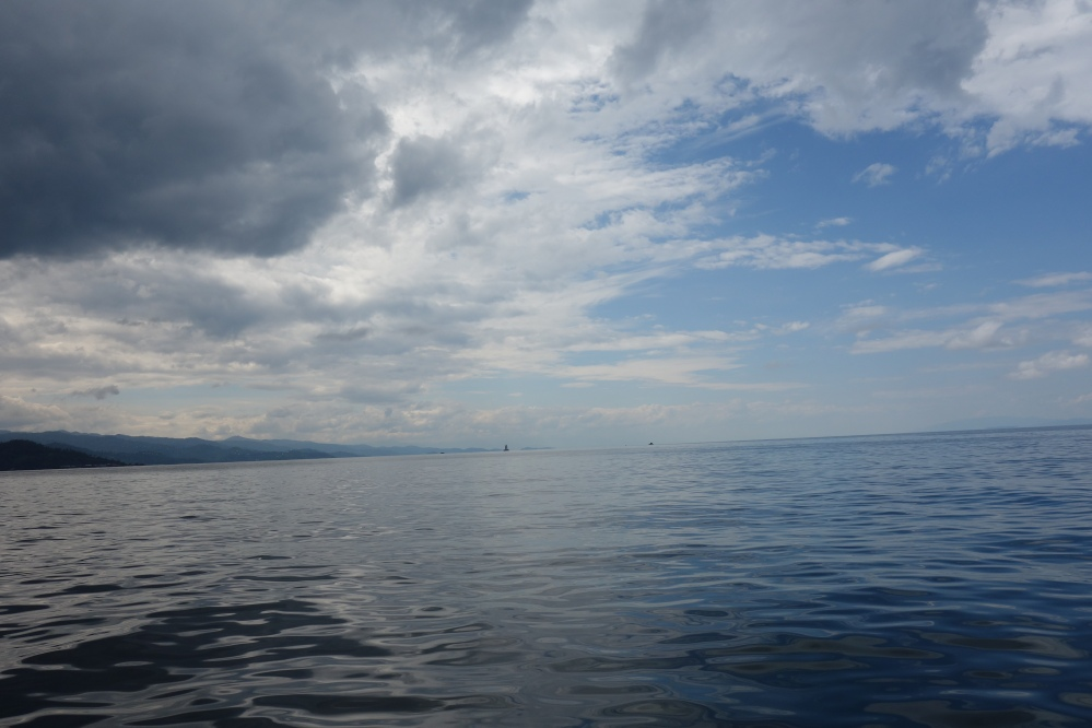 Vue du lac Kivu